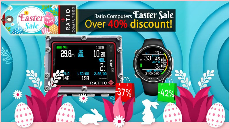 Diveworld easter sale